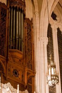 Pipes of organ