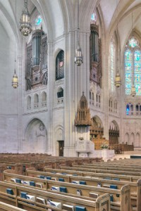 East Transept Organ Facades