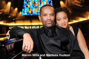 Marvin Mills and Marlissa Hudson