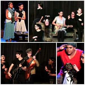 This Girl Dress Rehearsal Collage