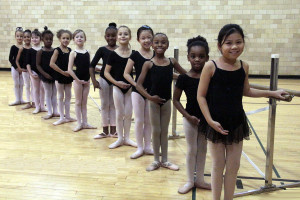 PBT Pre-Ballet B class Fall 2016